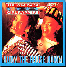 THE WEE PAPA GIRL RAPPERS - BLOW THE HOUSE DOWN - CARDBOARD SLEEVE CD MAXI