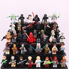 38pcs Star Wars Darth Vader Rylo Ren Storm Trooper C-3PO Luke Custom Lego Figure