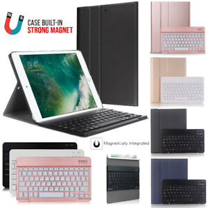 """For iPad Pro 10.5"""" inch (A1701 A1709) Bluetooth Keyboard Leather Case with Stand"""