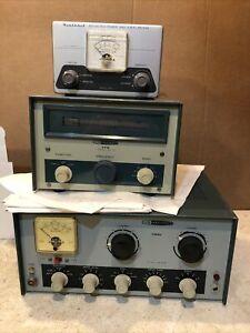 Heathkit Transmitter DX-60B Ham Radio, Hg-10 , Am-2 Set Bridge Power (#53)