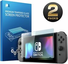 Mumba Nintendo Switch Screen Protector, Premium HD Clear Tempered Glass