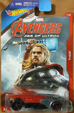 Hot Wheels THOR BUZZ BOMB ~ Marvel Avengers Age of Ultron ~ 2015 NIP