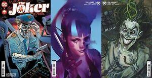 The Joker (2021) #7 Standard & 2 Different Variants Comic Cover Set