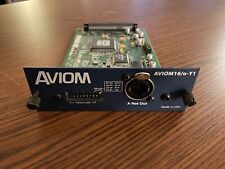 Aviom 16/o-Y1 A-Net 16 Channel Direct Output Card Yamaha M7Cl Ls9