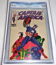 "Captain America #111 CGC Universal Grade Comic 9.2 ""Death"" Steve Rogers Identity"