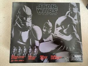 Star Wars Black Series Stormtrooper Trooper troop builder 4 Pack New
