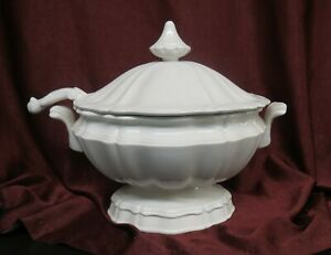 Vintage Red Cliff Heirloom Ironstone Soup Tureen w/Lid & Ladle