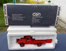 ancien camion pompier cef replex tpk4.25 porte shelter acmat ref 253