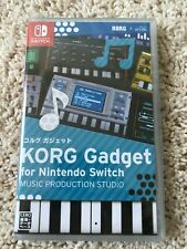 KORG Gadget for Nintendo Switch - New VERY RARE Sealed Ships in Box
