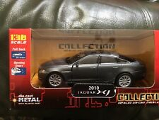 2010 Jaguar    grey die cast  model car