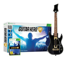 Guitar HERO-Live incl. chitarra Bundle per XBOX 360 | merce nuova | DT.