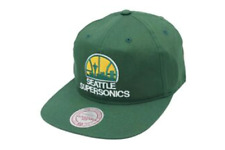 Mitchell & Ness Siettle Supersonics Hombre Ajustable Verde Baloncesto -