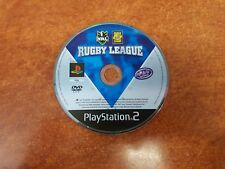 Rugby League NRL Playstation 2 PS2 Game