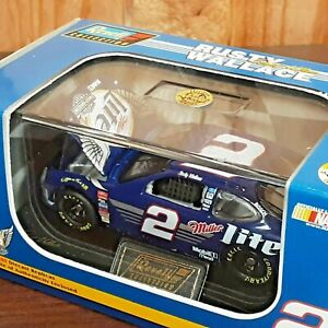 Rusty Wallace #2 Miller Lite Harley Davidson Ford Revell 1:64 Diecast NASCAR