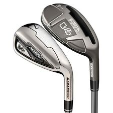 ADAMS V4 HYBRID IRONS 4,5,6 Hybrids, 7-SW Irons  STIFF FLEX Mens Right Hand NEW