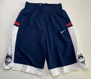 Nike x UConn Huskies 2015 Team Issue Basketball Shorts - M