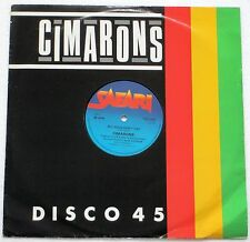 """CIMARONS BIG GIRLS DON'T CRY 3 TRACK 12"""" SINGLE 1982 EXCELLENT CONDITION"""
