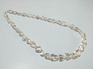 "Pepita De Cuarzo De 8SE11278 graduado cristal de titanio semi-preciosa del grano Strand 16/"""