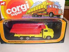Corgi Super 2017 Scania Giant Tipper dump truck diecast mint in box 1977