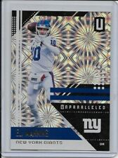 ELI MANNING 2018 Panini Unparalleled Fireworks SP Parallel 2/5 #139 GIANTS