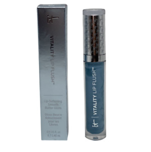 IT Cosmetics Vitality Lip Flush Butter Gloss News Anchor Blue