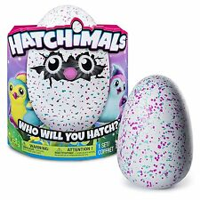 NIB Hatchimals PENGUALA Penguin Hatchimal ~ Teal/Pink Hatching Egg NEW *In Hand*