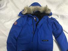 Canada Goose PBI Chilliwack Blue Coat Jacket Bomber Youth XL Mens XS