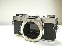 [ Meter WORKS ] OLYMPUS OM-1N Silver 35mm SLR Film camera Body only from JAPAN