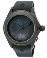 CORUM Men's Bubble Black PVD Steel Case Rubber Strap Watch R:$3,800.00