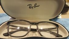 RAY-BAN RB 7117 5196 Eyeglass Frames Black 52 19 145 New