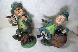 Leprechaun figurines