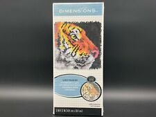 "Dimensions Tiger Latch Hook Kit 12"" x 12"""