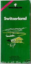 MICHELIN Green Guide - SWITZERLAND - No.1 in Tourist Travel Books - 1993 Edition
