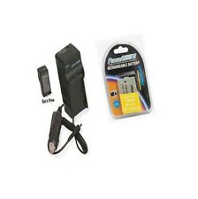BP-110 Battery + Charger for Canon HF R20 R21 R200 R206