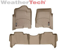 WeatherTech DigitalFit FloorLiner for Tahoe/Yukon Hybrid - 1st/2nd Row - Tan