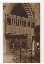 The Watching Gallery, St. Albans Abbey, Judges 5866 Postcard, A879