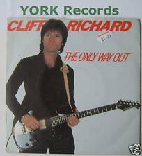 "CLIFF RICHARD - The Only Way Out - Ex Con 7"" Single"
