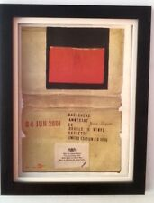 RADIOHEAD*Amnesiac*2001*ORIGINAL*POSTER*AD*FRAMED*FAST WORLD SHIP