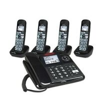 Clarity 40dB Amplified Corded-Cordless Phone w/ Answer Machine CLARITY-E814CC4
