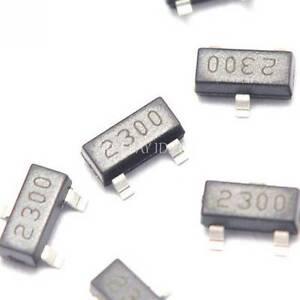 20PCS SI2300 2300 SOT-23 N-Channel 30-V(D-S) MOSFET SMD transistor