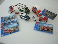 Large Lego Vehicle Bundle With Some Instructions - Not Complete