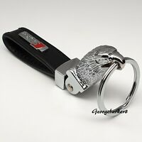 Audi Sline eagle leather keyring with gift box for him her mum men girlfriend
