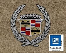 Cadillac FLEETWOOD 1994 LLOYD ULTIMAT MATS BEIGE 4 PC WREATH & CREST FRONT MATS