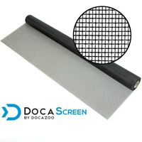 "DocaScreen 36"" x 100' Fiberglass Window, Porch and Patio Screen Mesh Roll"