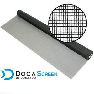 "DocaScreen 48"" x 100' Fiberglass Window, Porch and Patio Screen Mesh Roll"