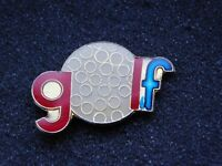 VINTAGE METAL PIN GOLF BALL