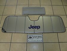 97-16 Jeep Wrangler New Foldable Folding Sunshade Sun Shade Mopar Factory Oem