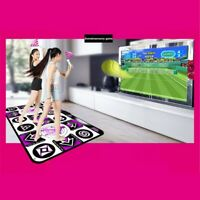 dynamic LED Dancing Dance Mat Double Players Computer TV Wireless Fitness Game