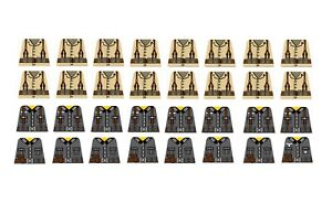 WW2 sticker decals for use with brick minifigures US Army compatible with LEGO