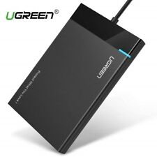 "Ugreen USB 3.0 Festplattengehäuse mit USB 3.0 Kabel für 2.5"" SATA SSD HDD UASP"